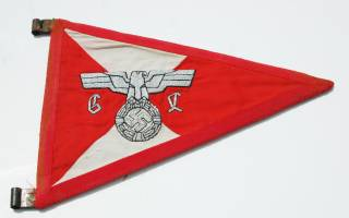 2e1ax_elegantred_featured_pennant1 Unissued  Black SS Panzer Wrapper - Relics of the Reich Museum - Relics of the Reich