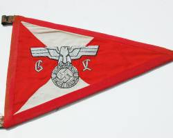 2e1ax_elegantred_module_pennant1 Unissued  Black SS Panzer Wrapper - Relics of the Reich Museum - Relics of the Reich