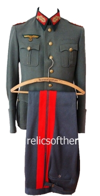 Uniforms-Army Luftwaffe And Kregsmarine