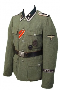 Uniforms-Waffen-SS, Allgemeine SS, Police and Diplomatic