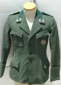 WWII German Forestry Officers Tunic