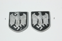 German Army Pith Helmet Eagle Shields