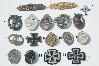 Reproduction German WWII Medals