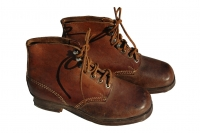WWII German Combat Short Ankle boots, Might be Hitler Youth
