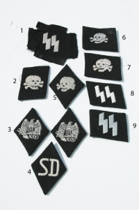 Reproduction German WWII SS Insignia