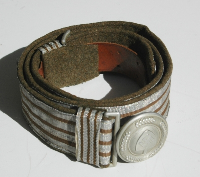 RAD Leaders Dress Brocade Belt and Buckle