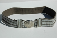 East German Officers Dress Brocade Belt and Buckle
