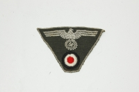 German M43 Late War Cap Eagle/Cockade or Trapazoid