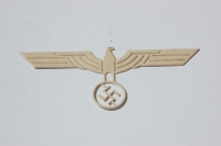 "RARE Original German WWII ""Unterlagen"" for Army Breast Eagle"