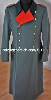 GFM Generalfieldmarshall Wilhelm Keitel's Greatcoat