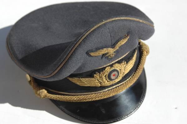 Luftwaffe Generals Named visor cap