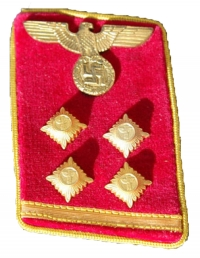 Cloth and Metal Insignia- SS, SA, NSDAP, NSKK and Teno