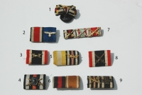 German WWII and WWI Ribbon Bars