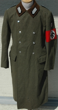 WWII German RAD Greatcoat