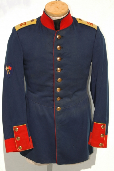 German Imperial Infantry Tunic with Signals Patch