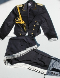 Reproduction Luftwaffe Generals Dress Short Jacket and Trousers set