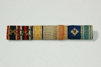 German WWII Ribbon Bar  7 Places