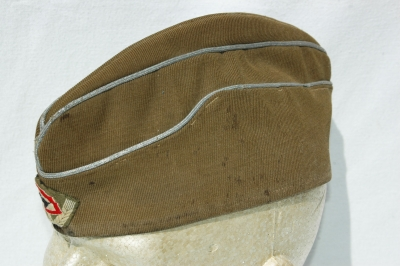 German WWII RAD Officers Overseas Cap