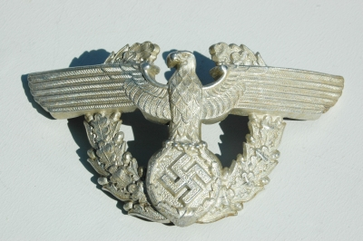 German WWII Police Officers Shako Eagle