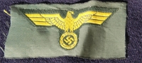 UNISSUED COASTAL ARTILLERY ENLISTED CAP EAGLE