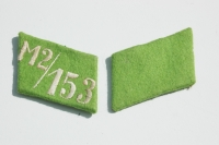 SA collar tab set unissued M2/153