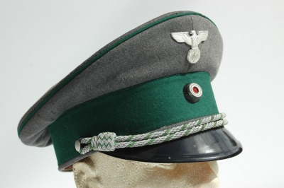 "Hunting or ""DJ"" Officers Visor Cap"