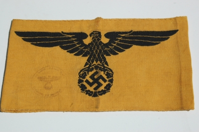 German WWII Non-Members of the Armed Forces Armband
