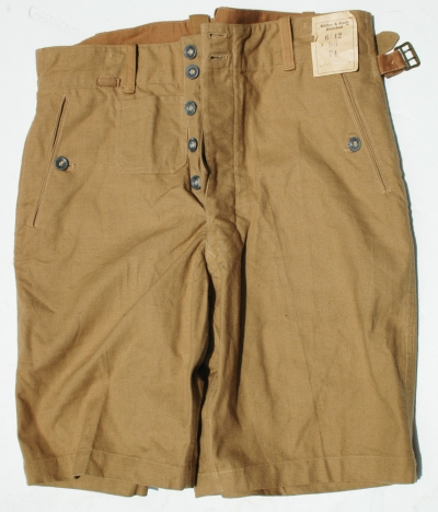 German WWII Unissued Kreigsmarine Tropical Trousers