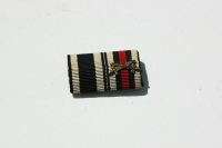 WWI or WWII German 2 Place Ribbon Bar