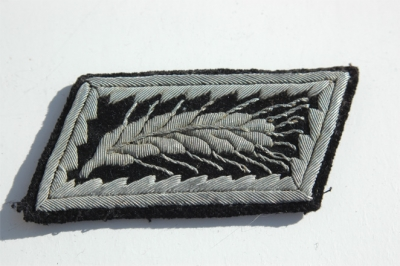RAD OFFICERS SINGLE COLLAR TAB