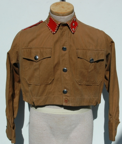 Rare German Pre-war SA Brownshirt for Staff Officer