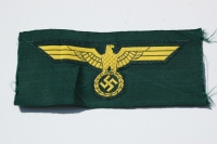 WWII German Coastal Artillery Enlisted Breast Eagle