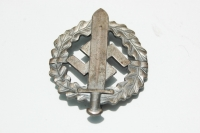 SA Sports Badge in Silver