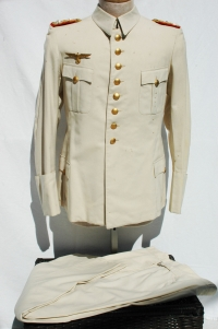 RARE German WWII Colonel-General's Summer White Uniform