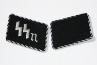 Reproduction German Allegemeine SS Collar Tabs