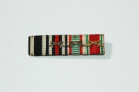 German WWI-WWII Ribbon Bar 4 Places