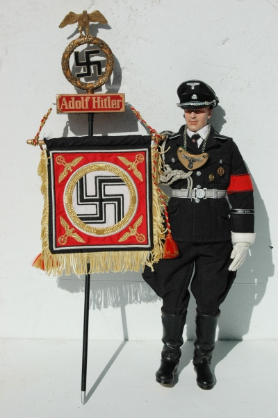 German 1/6 Scale Figure LSSAH Standard Bearer