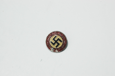 NSDAP Party Pin Painted