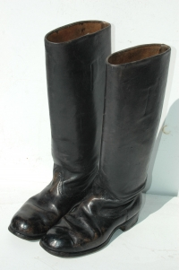 German WWII Officers Black Jackboots