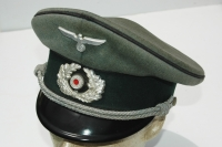 German WWII Army (HEER) Pioneer Officers Visor
