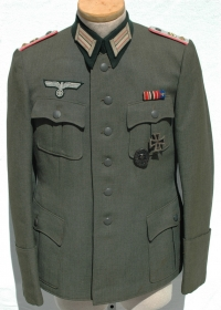 German WWII Army (HEER) Panzer Officers Tunic