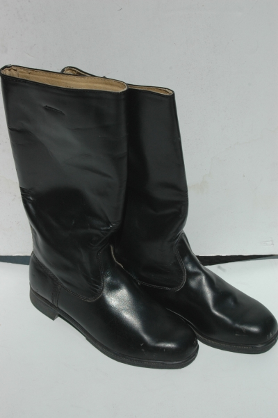 East German Officers Black Jackboots
