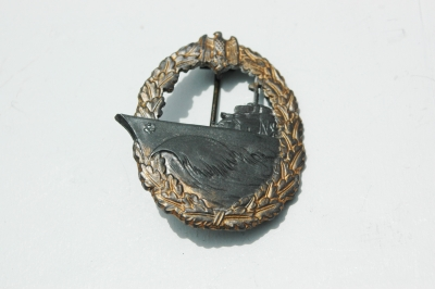 German WWII Kreigsmarine Destroyer War Badge