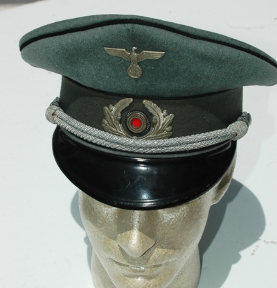 German Pre-War Pioneer Piped Officer Visor Cap