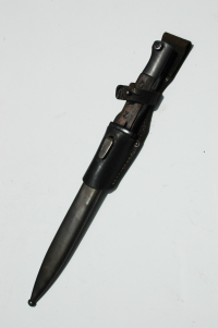 German WWII K98 Bayonet with Frog