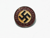 Early Painted NSDAP Party Pin