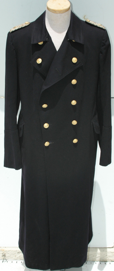 German WWII Kreigsmarine Officers Greatcoat