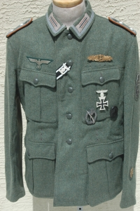 Reproduction German WWII M41 Tunic Tailor Made in Germany