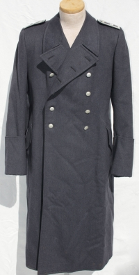 Rare German WWII Luftwaffe RLM (Reichsluftfahrtministerium) NCO's Greatcoat, Named