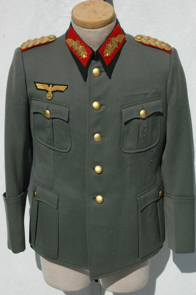 German WWII Army (HEER) Generals Tunic